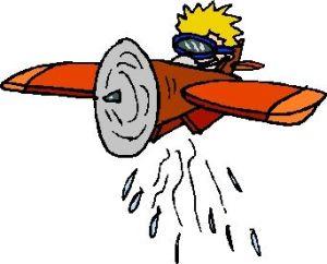 aereo sanci acqua