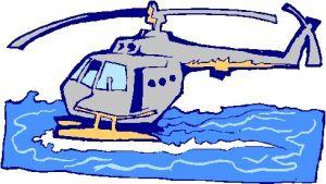 elicottero acqua