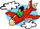 monoplano pilota capellone