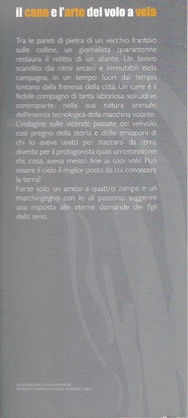 Il cane e l'arte del volo a vela - Maurizio Landi - Seconda Copertina
