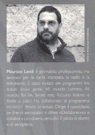 Il cane e l'arte del volo a vela - Maurizio Landi - Terza Copertina