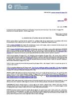 Individuazione delle modalità semplificate per l'informativa e l'acquisizione del consenso per l'uso dei cookie – 8 maggio 2014 [3118884]