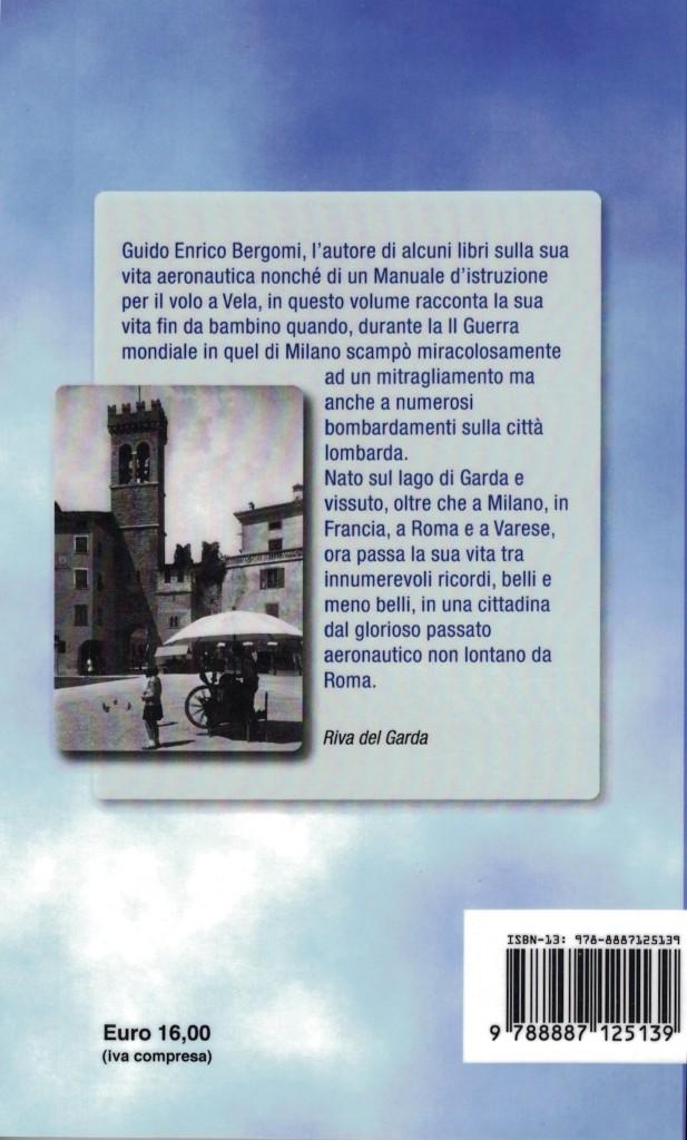 Vivo per Miracolo - Guido Enrico Bergomi - II Copertina