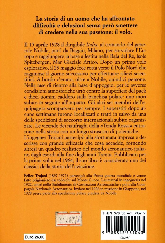 La Coda di Minosse - La verità sulla spedizione di Nobile - Felice Trojani - Retro