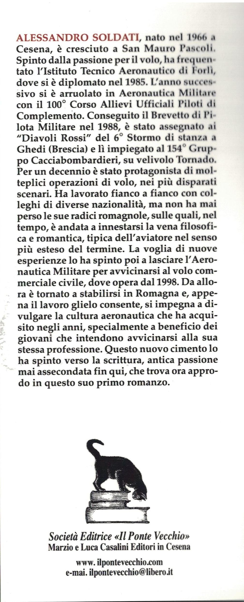 Andrà Bene Di Sicuro - Alessandro Soldati - III di copertina