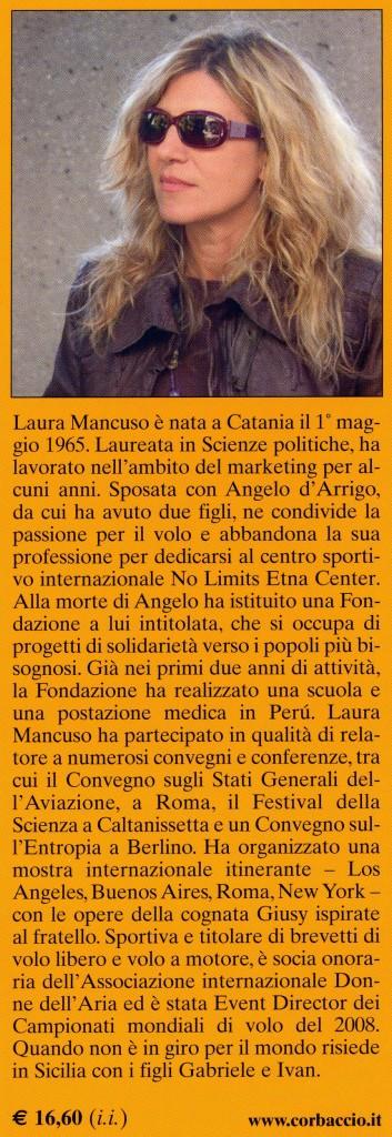 In volo senza confini - Laura Mancuso - Retro Copertina