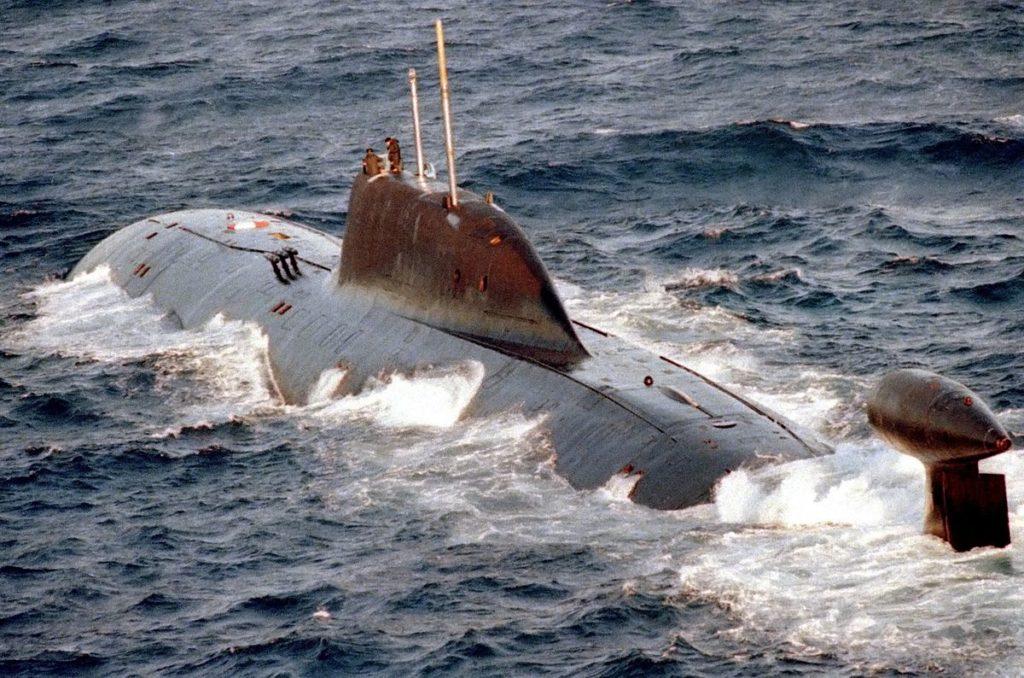 sottomarino classe akula