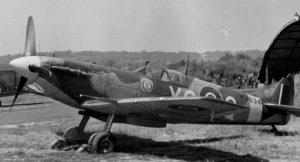 Spitfire a terra