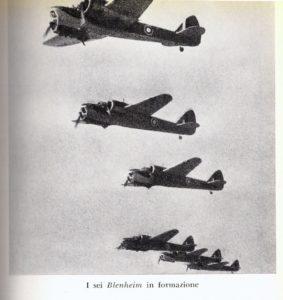 guerra nell'aria blenheim
