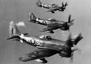 Il progetto dell'Hawker Tempest